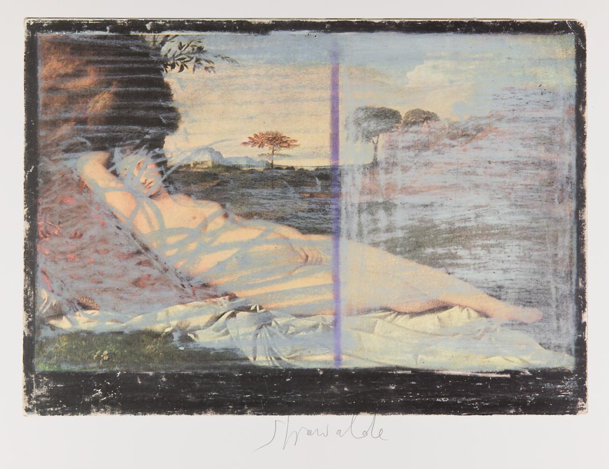 """Strawalde,Serie """"Schlummernde Venus"""", 1997,Bl. B1, Farboffset"""