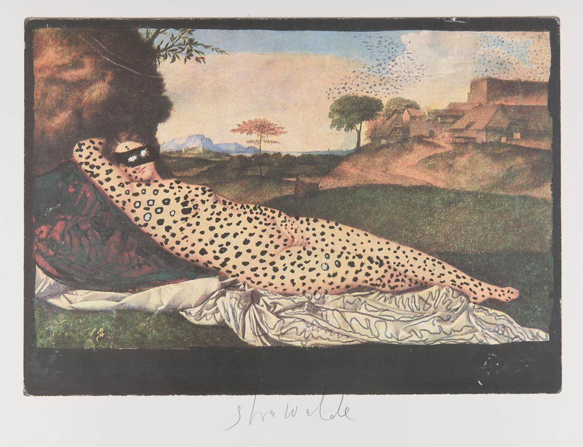 """Strawalde,Serie """"Schlummernde Venus"""", 1997,Bl. B2, Farboffset 2"""