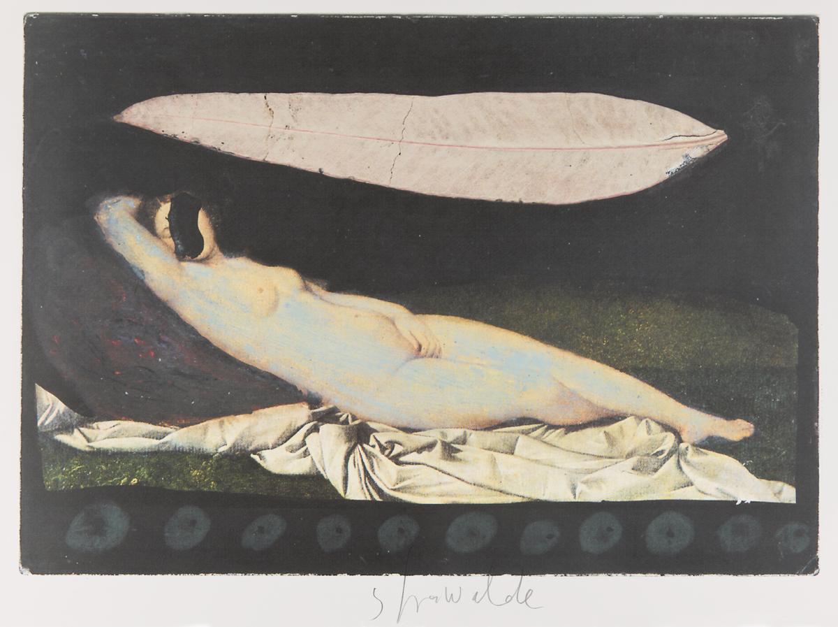 """Strawalde,Serie """"Schlummernde Venus"""", 1997,Bl. B5, Farboffset 5"""