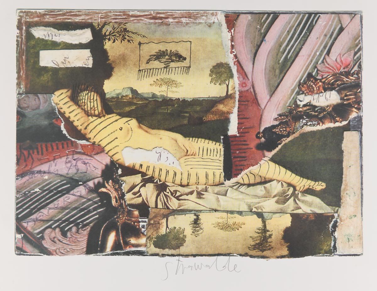 """Strawalde,Serie """"Schlummernde Venus"""", 1997,Bl. B6, Farboffset 6"""